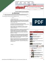 28-11-2013 'Largas Filas en Los Cruces Internacionales de Reynosa'
