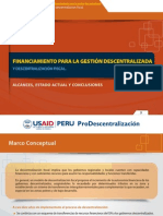 6 Financiamiento Para La Gestion Descentralizada