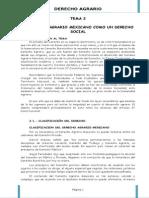 Derecho Agrario Tema II