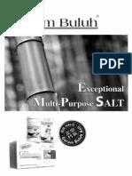 Korean Hai-O Bamboo salt