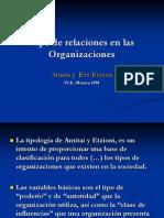 Tipo de Relaciones en Las Organizaciones