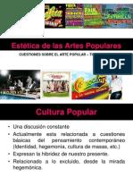 }Estética de las artes populares