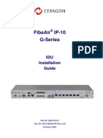 (Ceragon) IP10 G Install Guide 10 09
