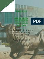 USF Going Green - Team Dream Green