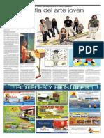 La fotografía del arte joven | El Comercio | 02.Mar.2011. Pp. C2