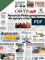 Periódico Norte de Ciudad Juarez 29 de Noviembre de 2013