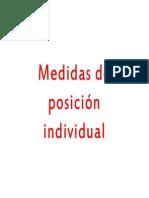Tema 4 Medidas de Posicion Individual