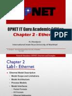 OPNET Chapter 2 N. Abedpoor (Ethernet)