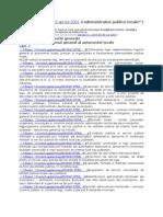 Lege 215 2001 Administratiei Publice