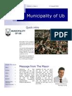 Ub Newsletter