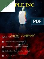 Apple 8th Nov