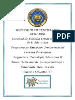 Universidad Central Del Ecuador Tecnologia