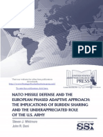 NATO Missile Defense and the European Phased Adaptive Approach