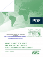 What Is Next for Mali? The Roots of Conflict and Challenges to Stability