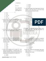 Latihan Soal Medspin 2013 - Fisika Paket a.doc