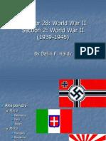 Chapter 28 Section 2 World War II