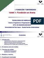 PPT Fundicion de Arena