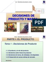 direccion comercial, producto y marca