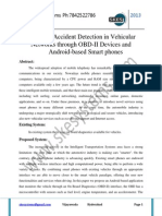 Providing Accident Detection in Vehicular