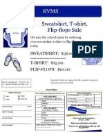 Sweatshirt Flyer