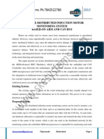 An on-line Distributed Induction Motor Monitoring System