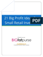 21 Big Profit Ideas For Small Retail Investors