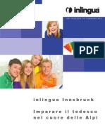 Inlingua Innsbruck Opuscolo Corsi Tedesco