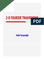 2 d Fourier Transforms