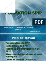 Formation Spip