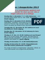 December i Ansgarkirke 2013