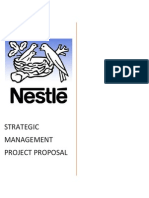 Nestlé Pakistan Ltd project proposal