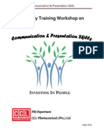 Communication & Presentaion Skills