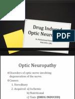 Drug Induced Optic Neuropathy