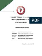 Plan de Trabajo Lista 1 Veterinaria Unida