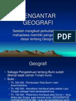 PENGANTAR GEO 1