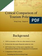 Tourism Policies HongKong Singapore