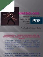 Kinesiologie - Curs 1