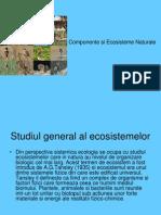 Componente şi Ecosisteme Naturale