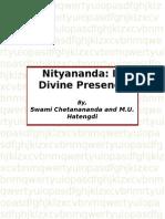 Nityananda- In His Divine Presence