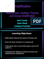 Hearing Aid Presentation