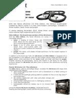 CP Parrot AR.Drone 2.0 Elite Edition (US)