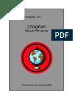 Geografi, sebuah pengantar