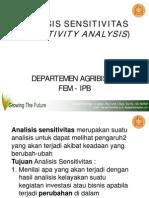 Bab 8 Analisis Sensitivitas1