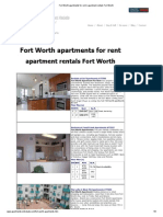 Fort Worth Apartments for Rent _ Apartment Rentals Fort Worth