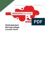 medicijnbeleid BCPL-Herle 120913