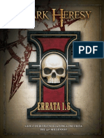 Dark Heresy Errata 1.6