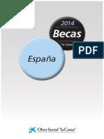 Bases Becas 2014 la Caixa