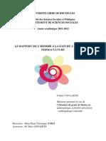 Memoire - Rapport h - Nature Dans La Permaculture