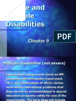 Severe and Multiple Disabilities -