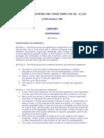 Argentina Trademark Law